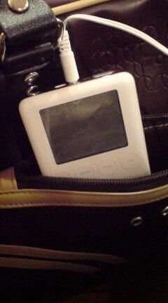通勤の友 iPod<br />  ♪